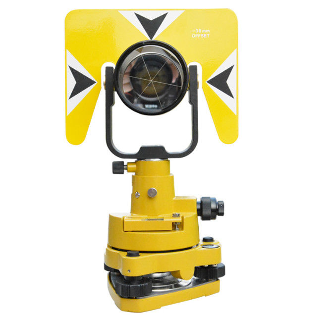 Total station accessories total station prism sets with tribrach and Plastic box